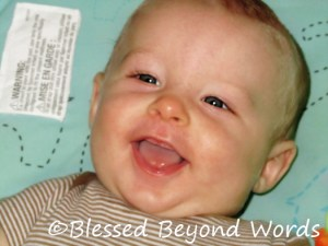 Wordless Wednesday: He Gives the Best Smiles {8/3/11}