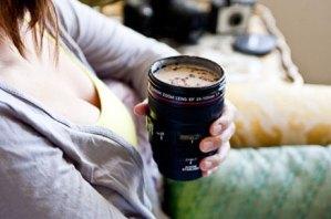 Camera Lens Shaped Mug Just $14!