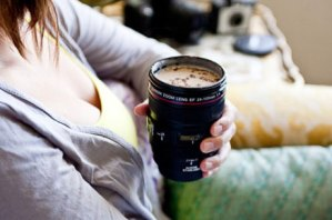 Camera Lens Shaped Mug Just $14!
