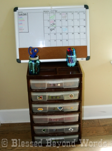 Completed Homework Station