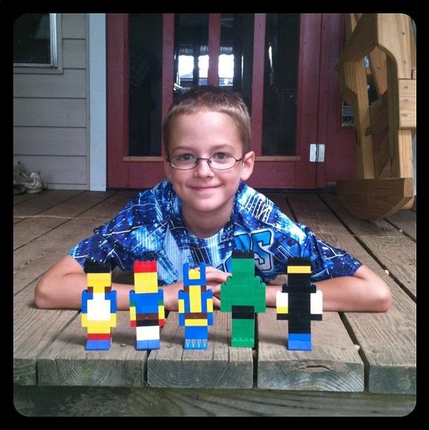 Zander's legos