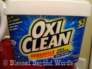 OxiClean Versatile Stain Remover Saves the Day! #Sponsored #Review