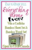 Win a Cariloha Bamboo Sheet & Towel Set
