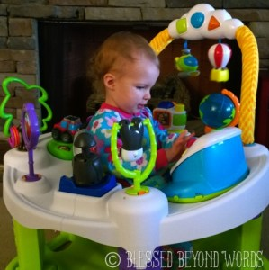 #Sponsored: Check Out the @EvenfloBaby #ExerSaucerExplorer {Our #Review}