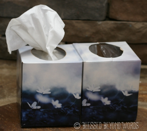 clean tissues, dirty tissues