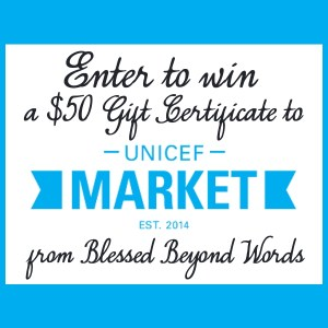 #Sponsored: Support UNICEF & Enter to Win! #Giveaway