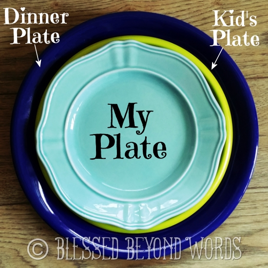 plate sizes