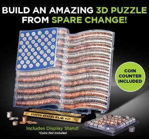 #Ad: US Flag #3DCoinArt Set #Review & #Giveaway