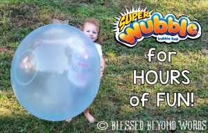 #Ad: #SuperWubble Bubble Ball #Review & #Giveaway