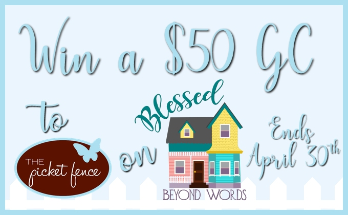Win a $50 Gift Card from Picket Fence