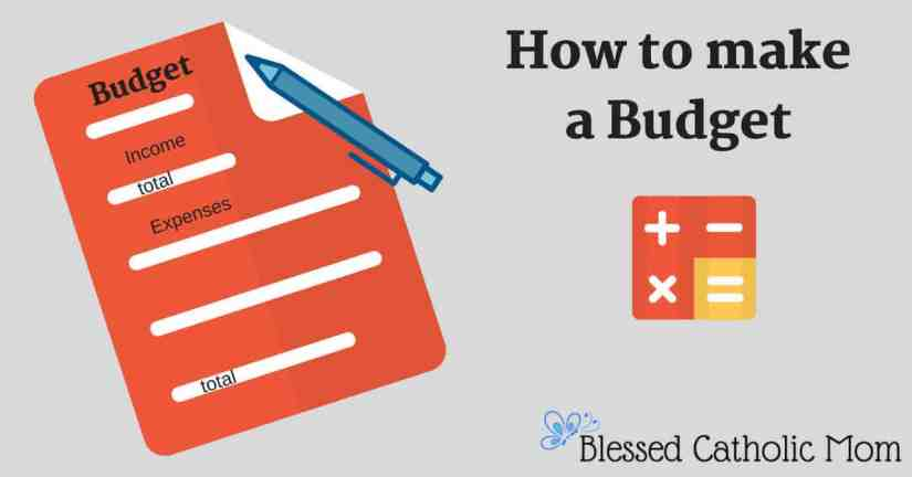 How to make a budget is not difficult. Implement these easy steps and you will have a working budget that is easy to manage. Image of a graphic called How to Make a Budget with a graphic if a budget sheet with income and expenses to be logged and a pen on it. Besides that is a graphic of addition, subtraction, multiplication, and division symbols.