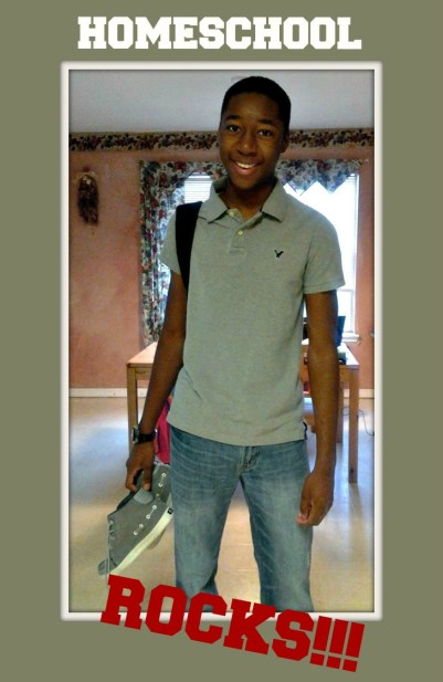 micah first day at lee college 2013 pic 4
