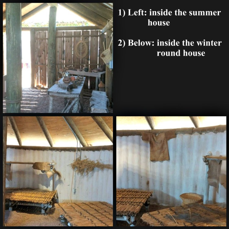 winter summer house collage