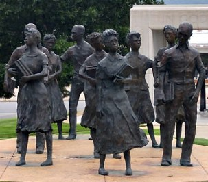 little rock nine in 1957 pic 1