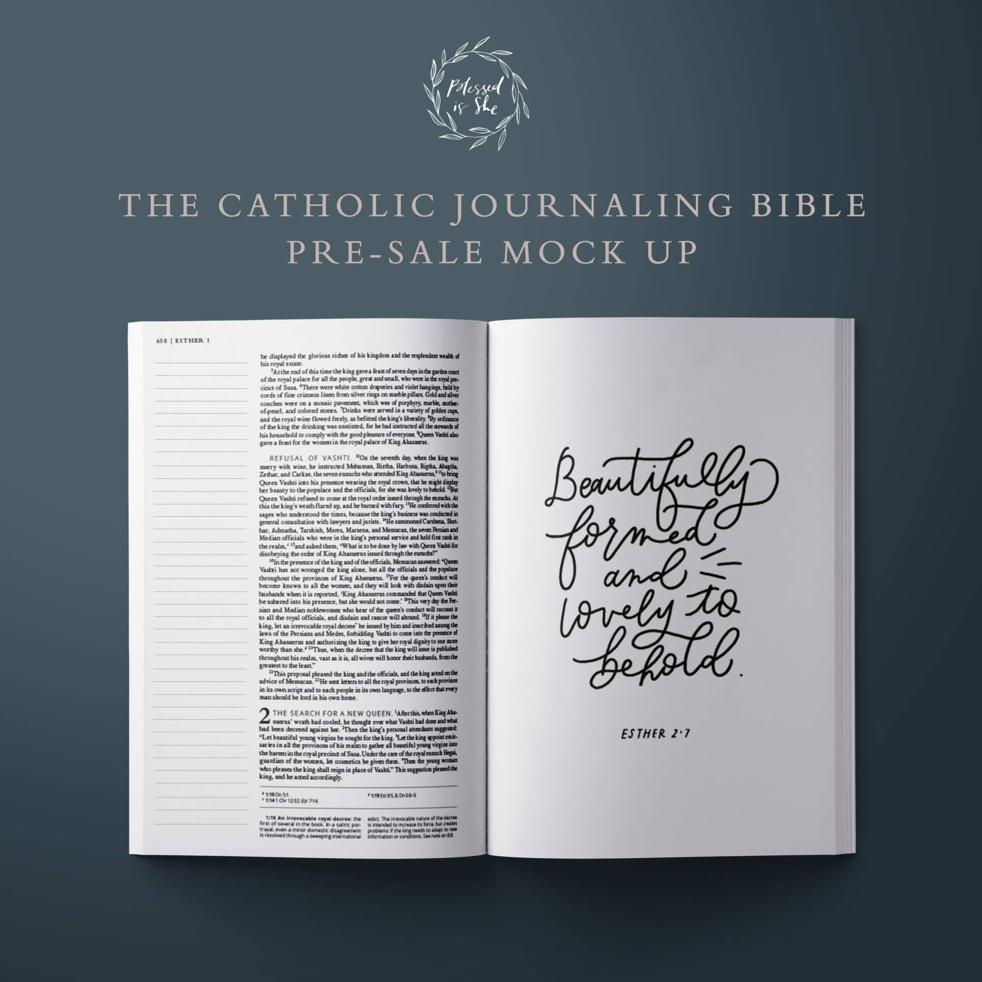 The Catholic Journaling Bible Blessed Is She