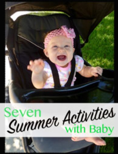 seven summer activities with baby