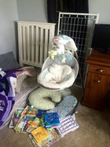 keep track of family finances to afford baby items