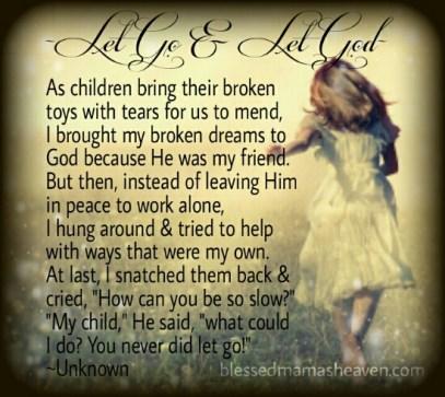 Let Go & Let God Poem