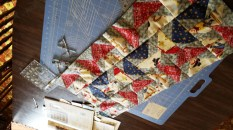 sewing....started a couple of rows