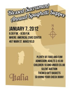 Spaghetti Supper 2012