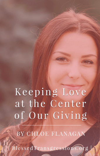 Keeping Love Center of Giving - Pinterest