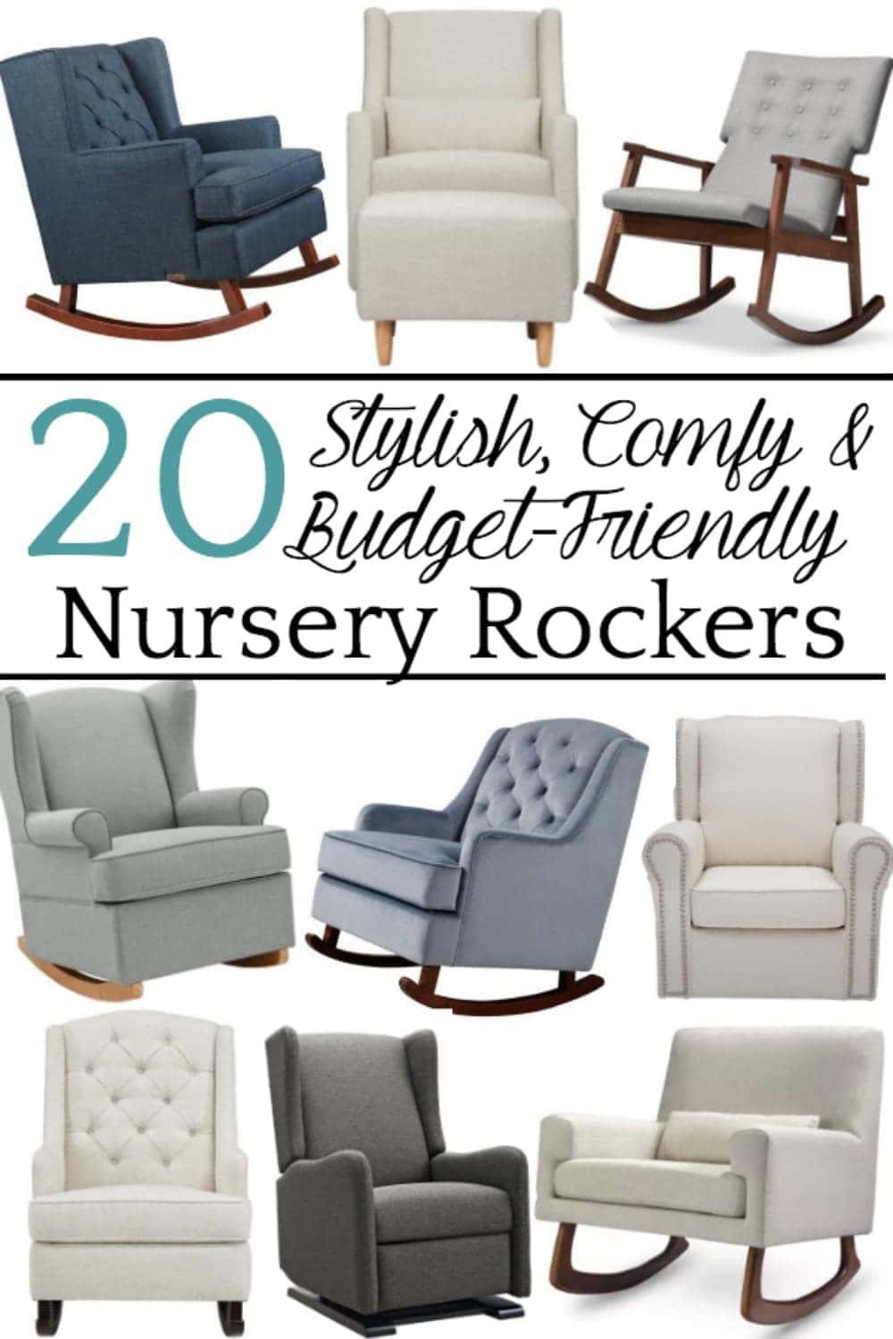 Rocking Chairs For Nursery 20 Stylish Budget Friendly Nursery Gliders Bless Er House