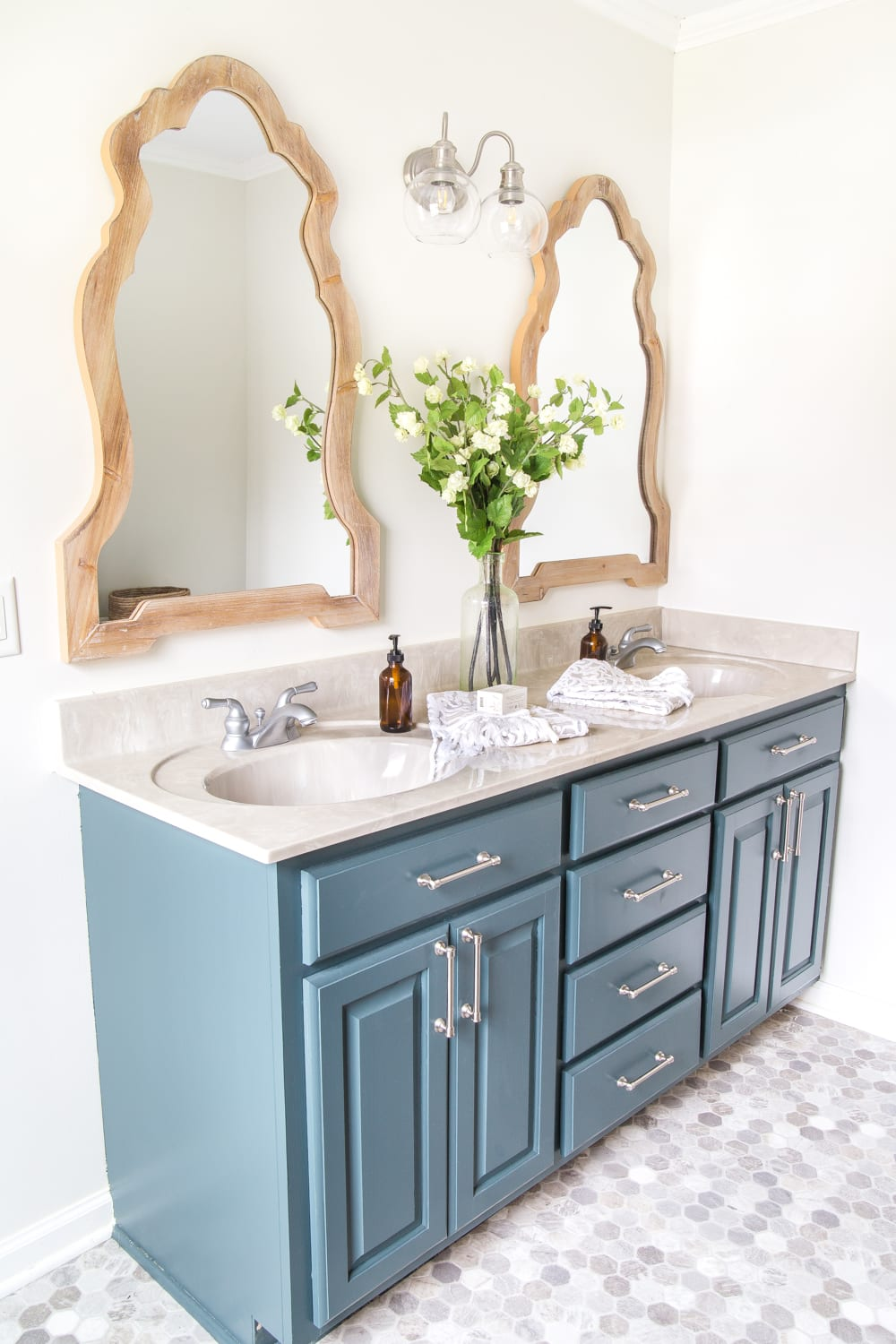 How To Organize A Bathroom How To Organize A Bathroom Vanity In 6 Quick Steps Bless Er House