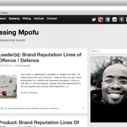 goodbye blessingmpofu.com. hello…?