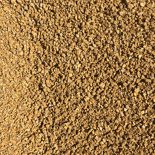Canyon gold granite gravel