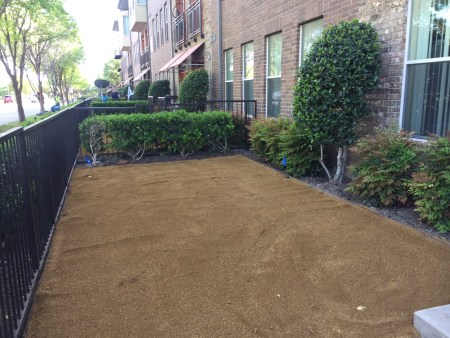 Installation of Artificial Turf Base