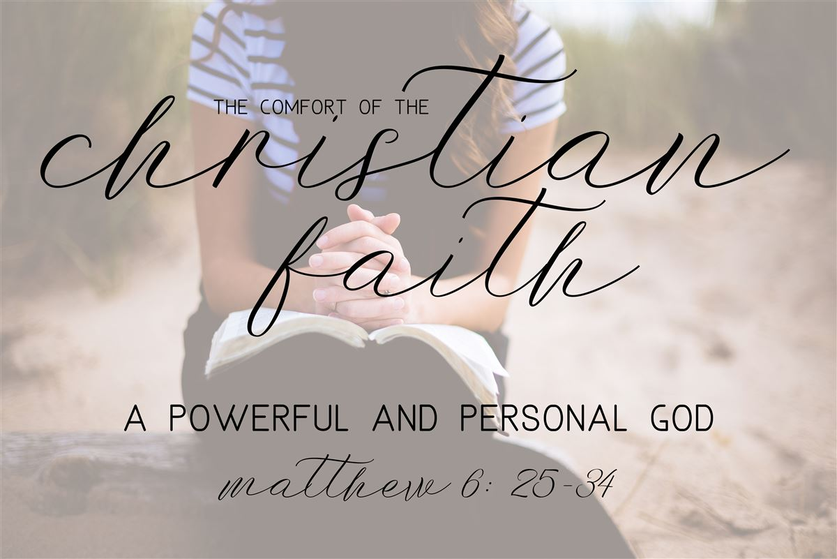 A Powerful And Personal God