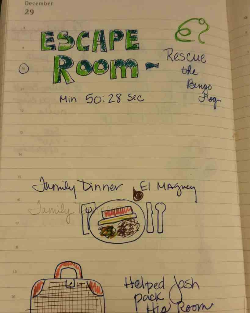 drawingmyday Escape room in the morning we escaped with 10hellip