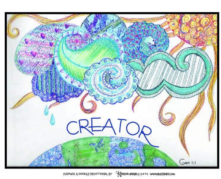 Genesis 1:1 Doodle Devo