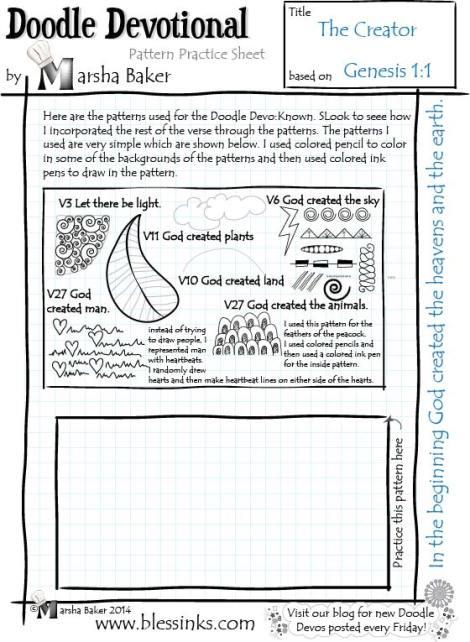 The Creator Pattern Sheet