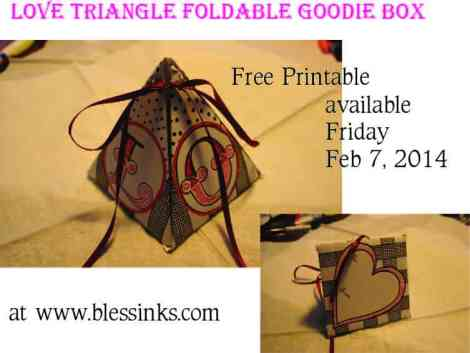 Valentines Box flyer