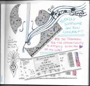 Doodle Devo Friday – A page from my journal