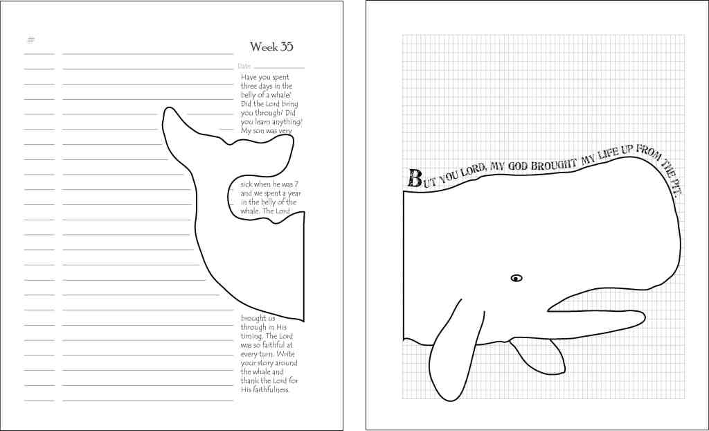 page spread whale