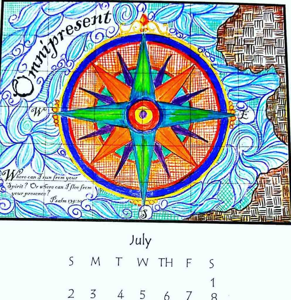 July printable available at wwwblessinkscom