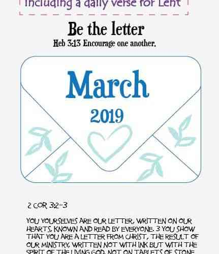 March Bullet Journal now available