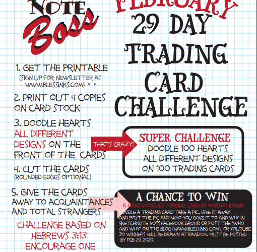 February 29 Day Trading Card Challenge