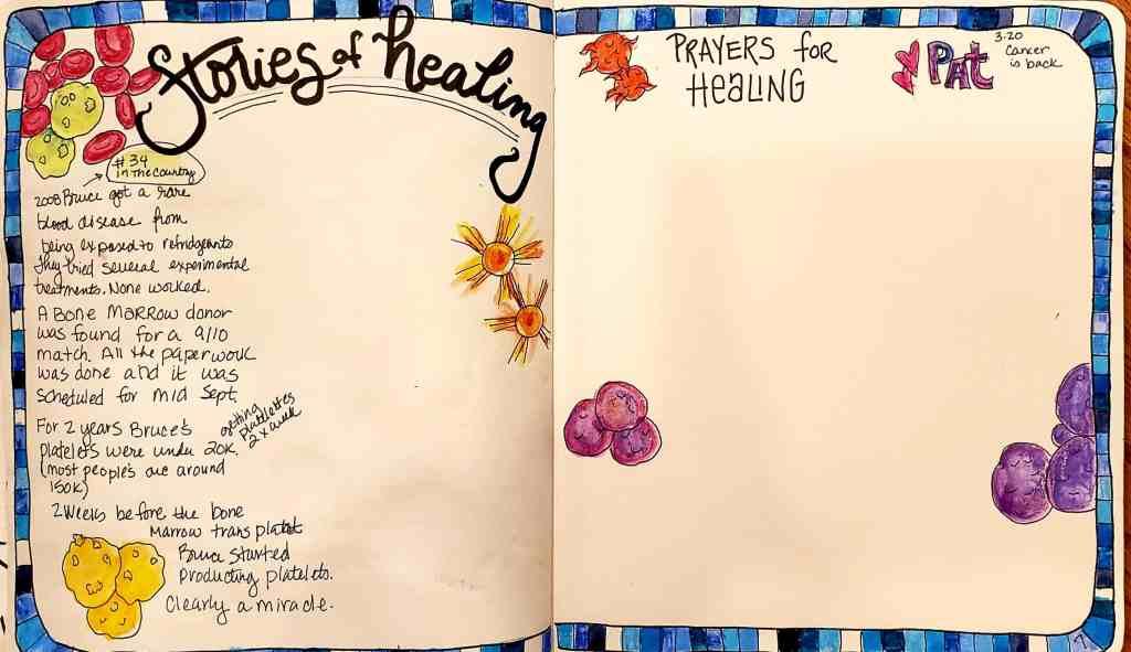 Sketchnote Journal Page Yahweh Rophe