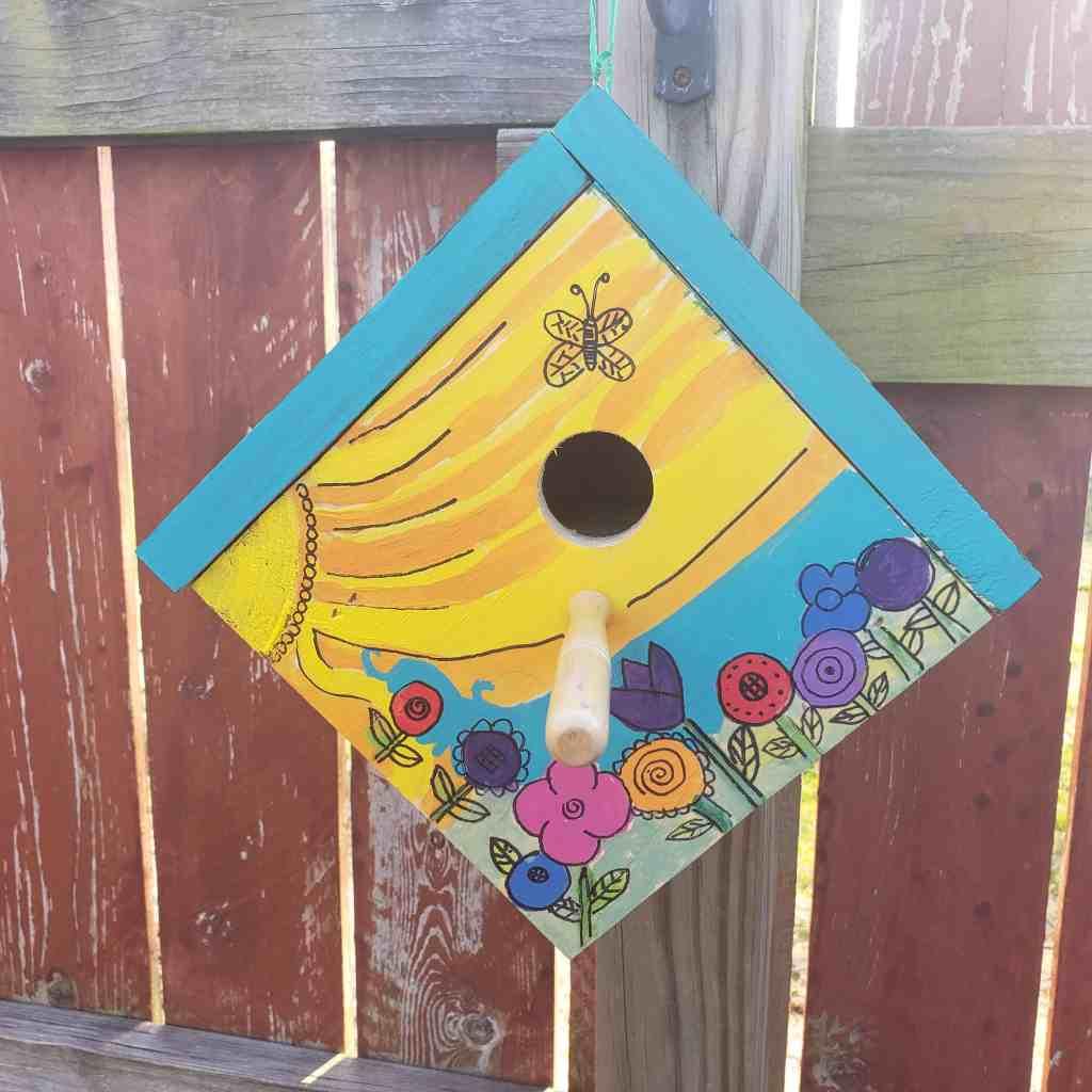 sunshine birdhouse