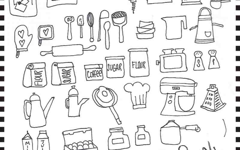 #The100DayProject – Icons Days 17-23