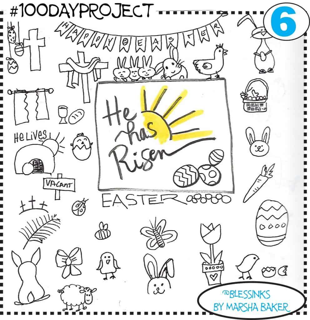 Easter Doodles