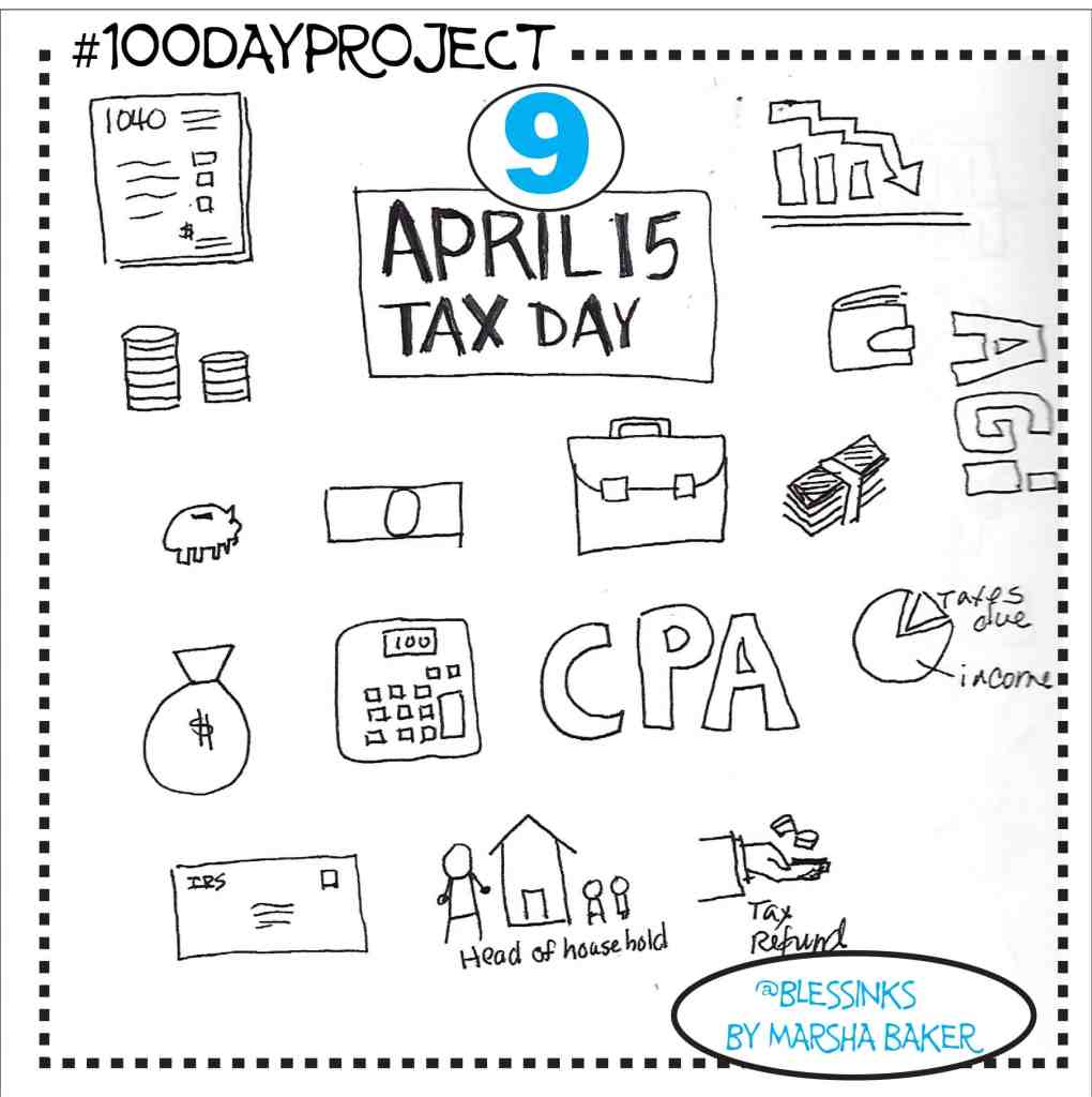 Tax Day Icons