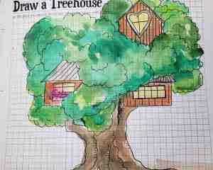 Sketchnote summer camp treehouse challenge