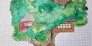 Sketchnote summer camp treehouse challenge