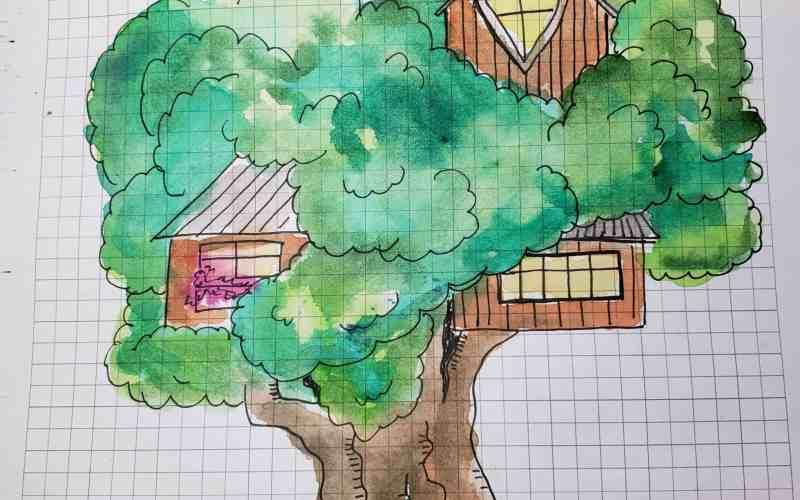 Sketchnote Summer Camp – Let's make a Treehouse