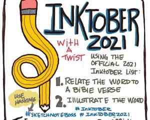 Inktober with a Twist