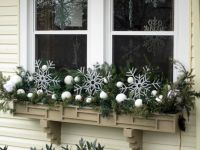 Ideas for a Winter Window Box